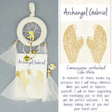 Dream Catcher Mini Archangel Gabriel (Communication) D2.4in x L9in