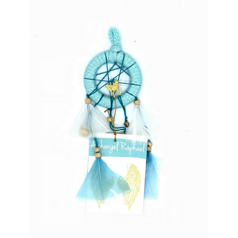 Dream Catcher Mini Archangel Raphael (Healing) D2.4in x L9in