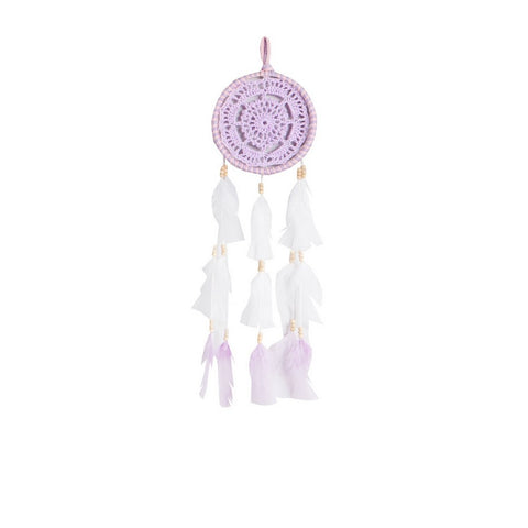 "Dream Catcher Lavender and Light Pink (Lavender Center) - D5.1"" x L19.7"""