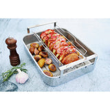 Casteline 3-ply Satinless Steel Roaster