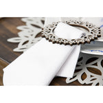 Winterland Double-Sided Napkin Ring Set of 4