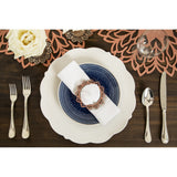 Auburn Double-Sided Napkin Ring Set of 4