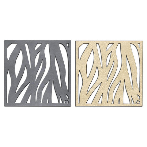 Foliage Double-Sided Coasters Set of 4