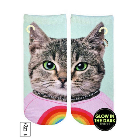 Purrfect Cat Ankle Socks