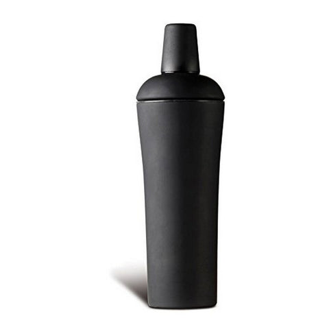Cocktail Shaker, Soft Touch Black