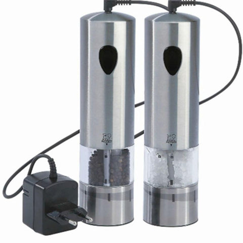 "Elis Rechargeable u""Select Salt & Pepper Mill Set"