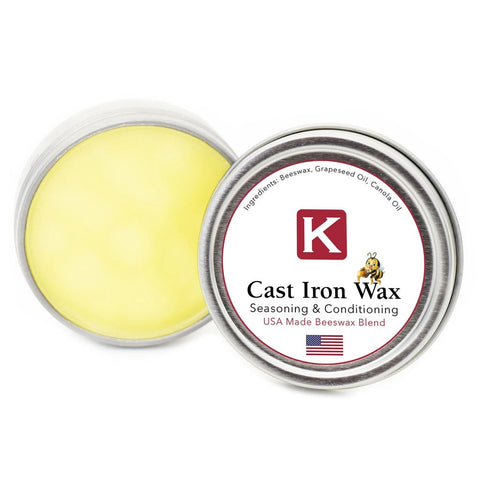 "Cast Iron Wax ""Perfect Seasoning"""
