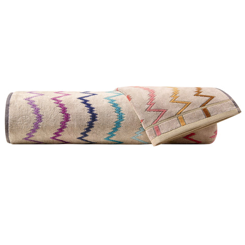 Vera Towels Collection Multicolor