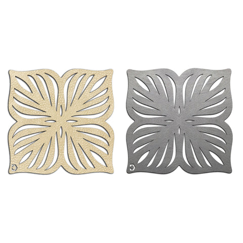 Blossom Double-Sided Coasters Set of 4
