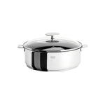 Casteline Non-Stick Saute Pan With Domed Glass Lid