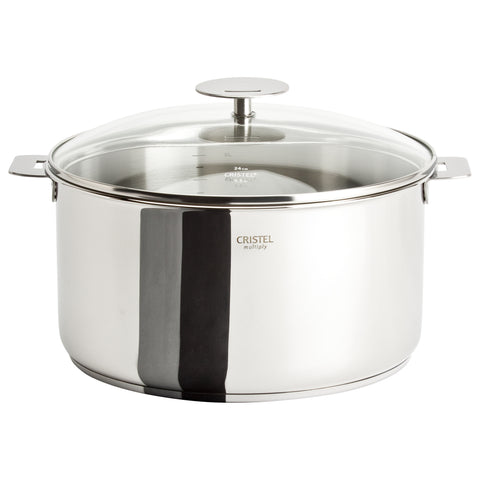 Casteline Saucepan With Domed Glass Lid