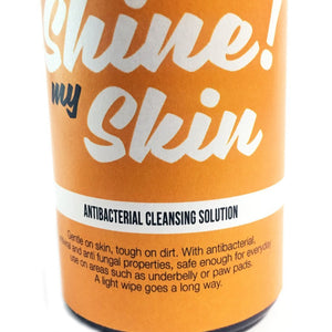 SHINE MY SKIN (antibacterial cleansing solution)