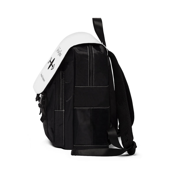 Solo Travel Woman's Empowered & Independent Unisex Casual Shoulder Backpack - Solo Travel Woman