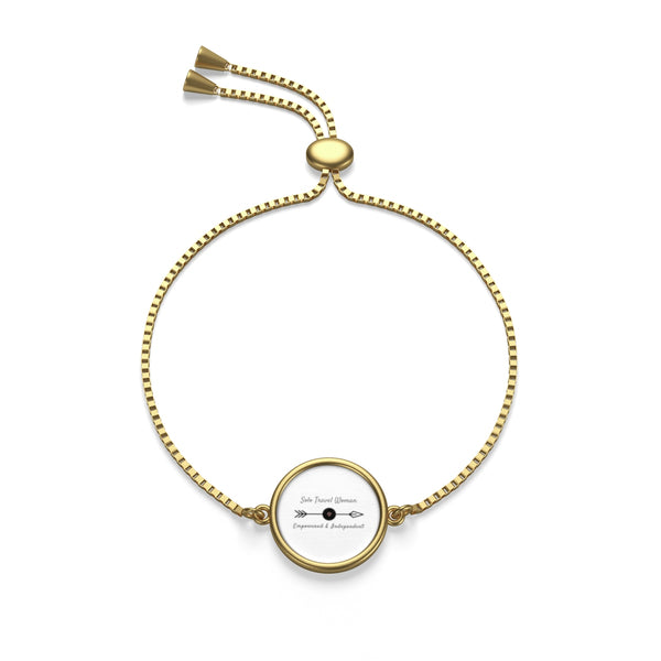 Solo Travel Woman Chain Bracelet - Solo Travel Woman