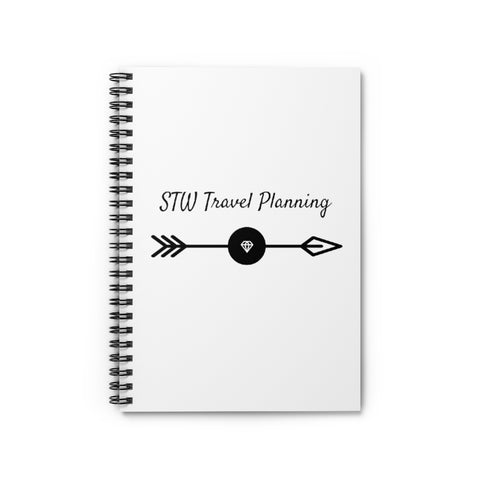 STW Travel Planning Spiral Notebook - Ruled Line