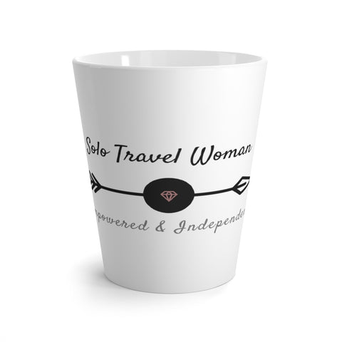 Solo Travel Woman Latte mug