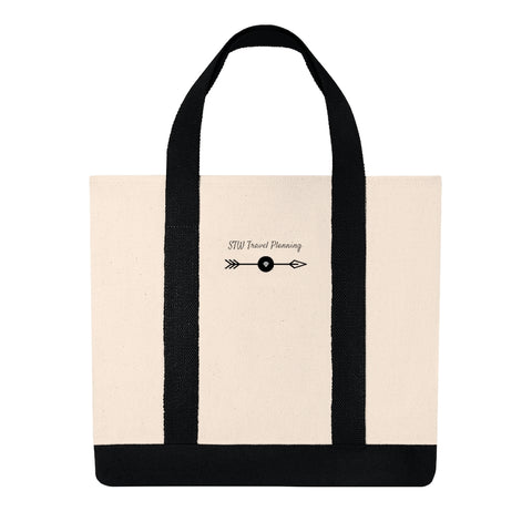 STW Travel Planning ShShopping Tote