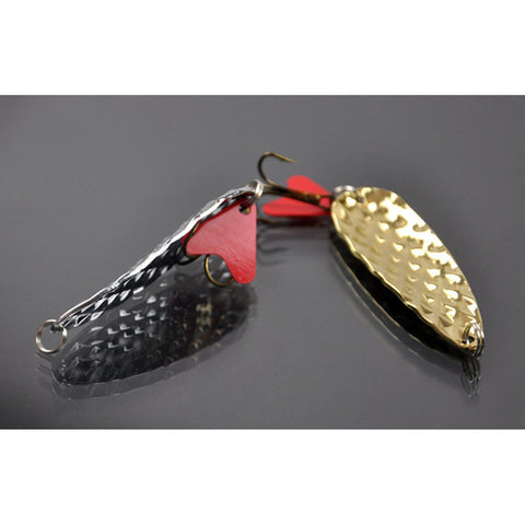 2 PC Metal Alloy Hard Lure