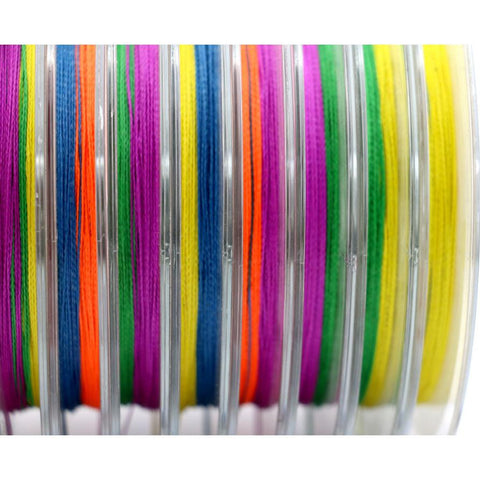 100m PE Multifilament 4 Strands Braid Line