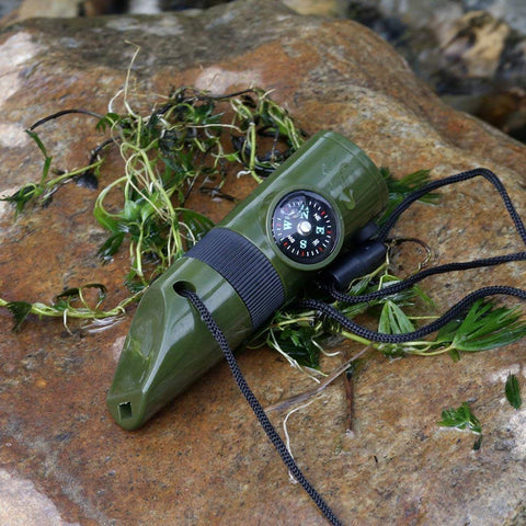 7 in 1 Emergency Survival Whistle