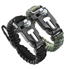 2 PCS Survival Bracelet