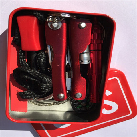 6pcs Outdoor Fist Aid Kit