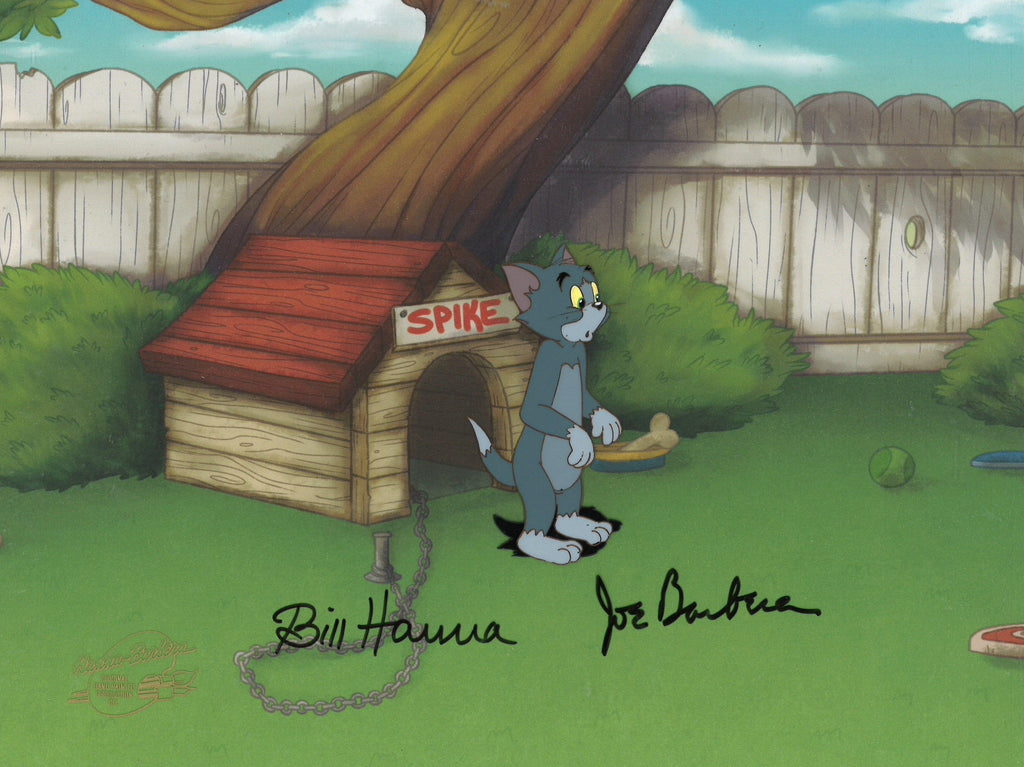 TOM AND JERRY PRODUCTION CEL Original Production Cel Hanna Barbera Studio Art