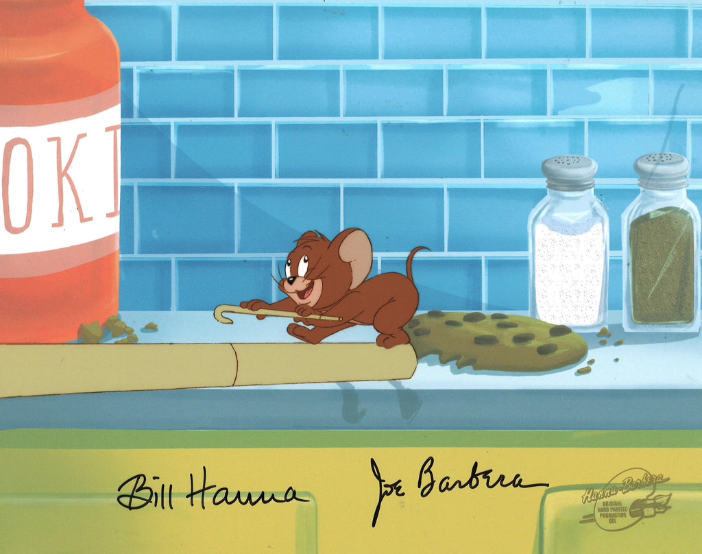 TOM AND JERRY KIDS PRODUCTION CEL Original Production Cel Hanna Barbera Studio Art