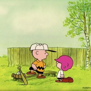 PEANUTS PRODUCTION ART: CHARLIE BROWN AND LELAND