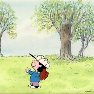 PEANUTS PRODUCTION ART: LUCY VAN PELT