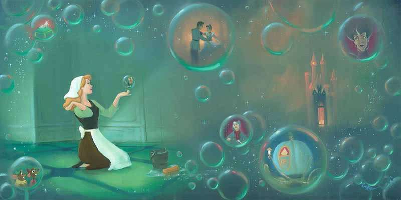 DISNEY LIMITED EDITION: A FAIRYTALE LIFE Giclée On Canvas DISNEY FINE ART