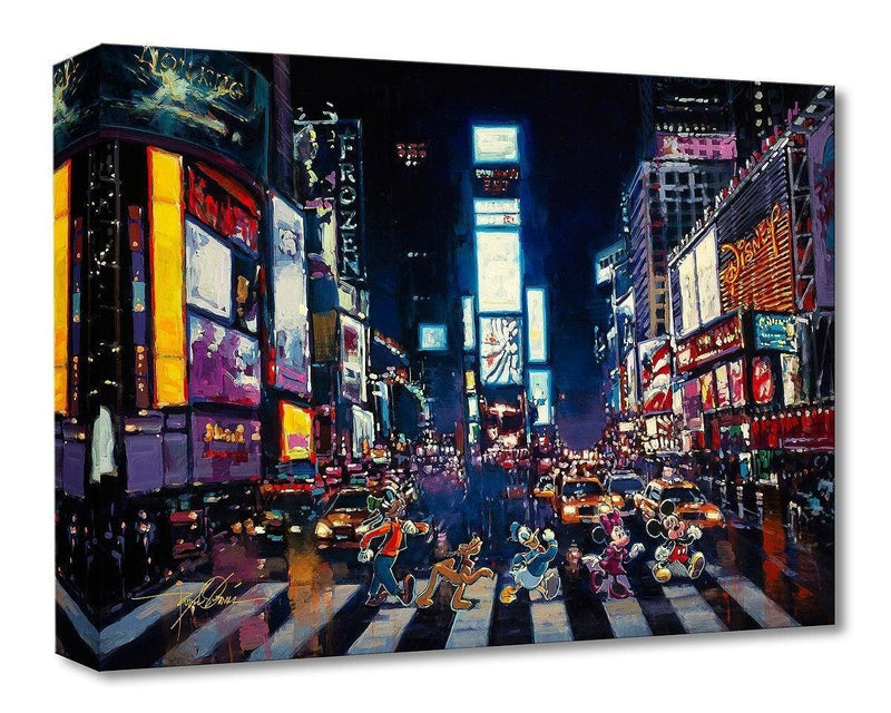 DISNEY TREASURES: BRIGHT LIGHTS OF MANHATTAN Disney Treasure DISNEY FINE ART