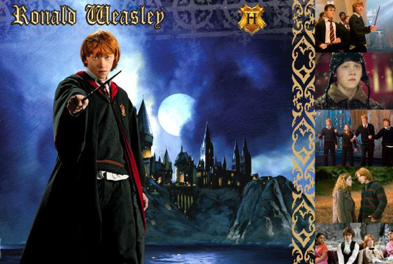 WITCHES & WIZARDS COLLECTION RON WEASLEY Giclée on Paper HARRY POTTER FINE ART
