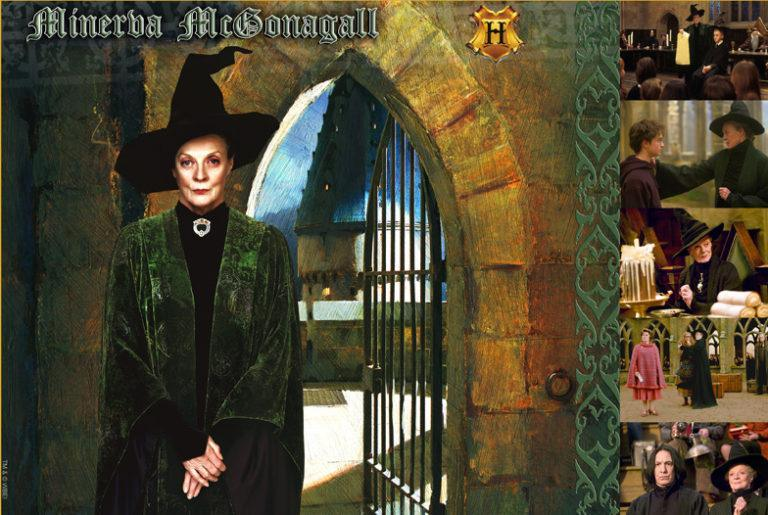 WITCHES & WIZARDS COLLECTION MINERVA MCGONAGALL Giclée on Paper HARRY POTTER FINE ART