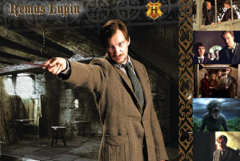 WITCHES & WIZARDS COLLECTION REMUS LUPIN Giclée on Paper HARRY POTTER FINE ART