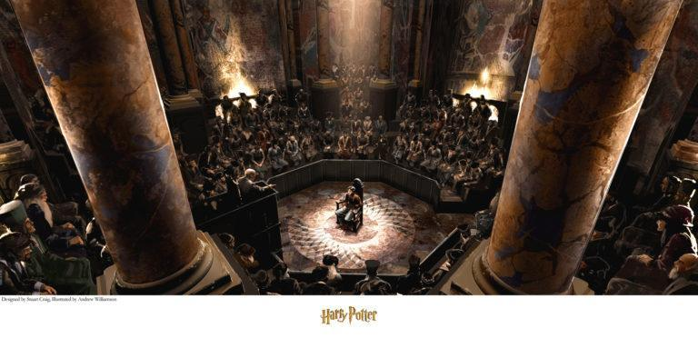 THE TRIAL Giclée on Paper HARRY POTTER FINE ART