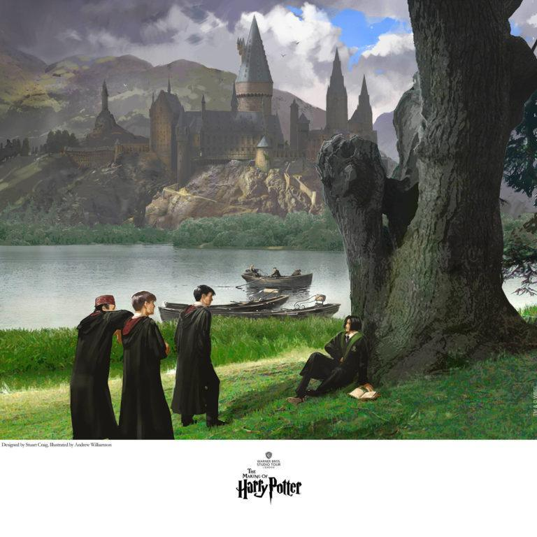 TAUNTING SNAPE Giclée on Paper HARRY POTTER FINE ART