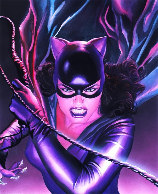 MYTHOLOGY: CATWOMAN Giclee On Paper DC COMICS FINE ART