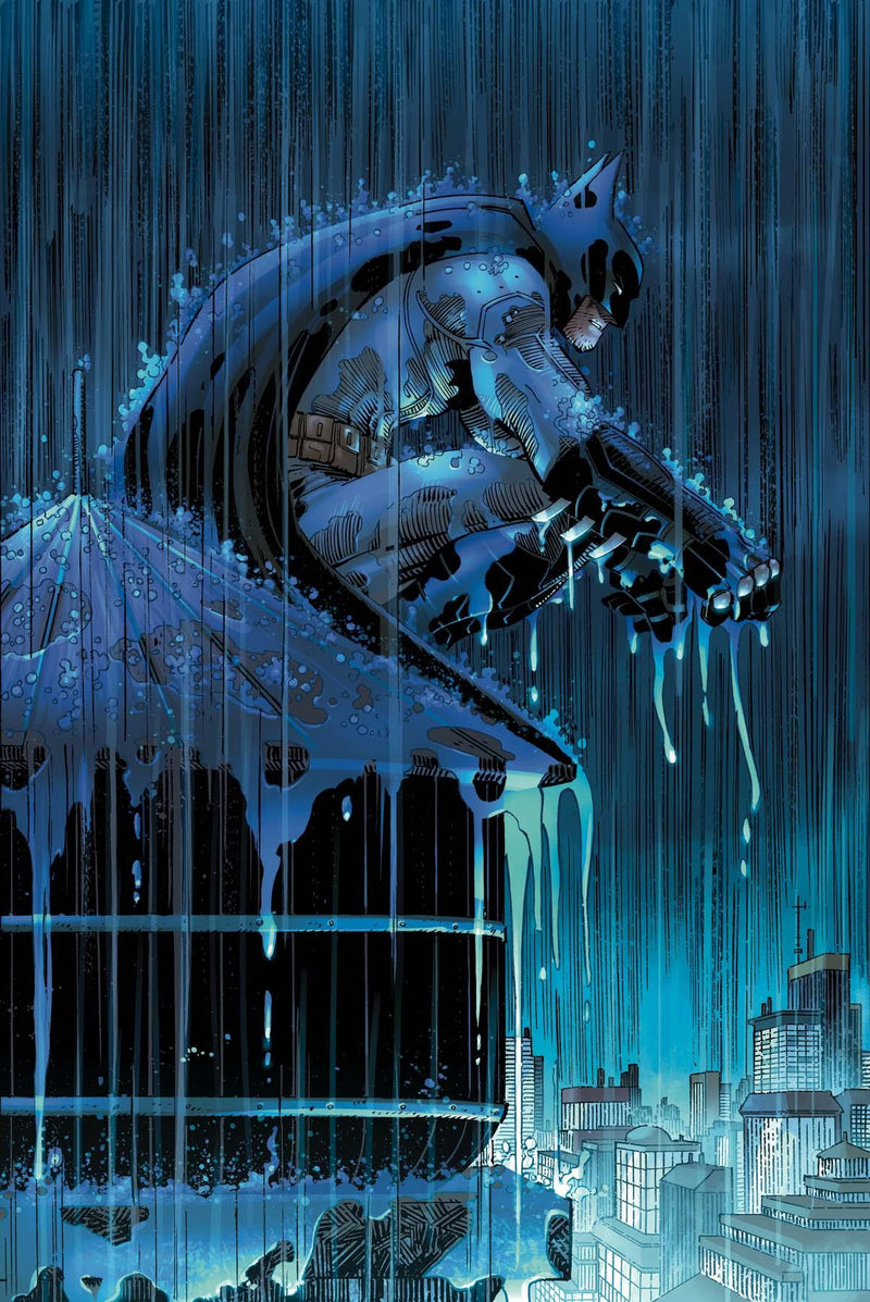 BATMAN: TWO STORMS Giclée On Paper/Canvas DC COMICS FINE ART