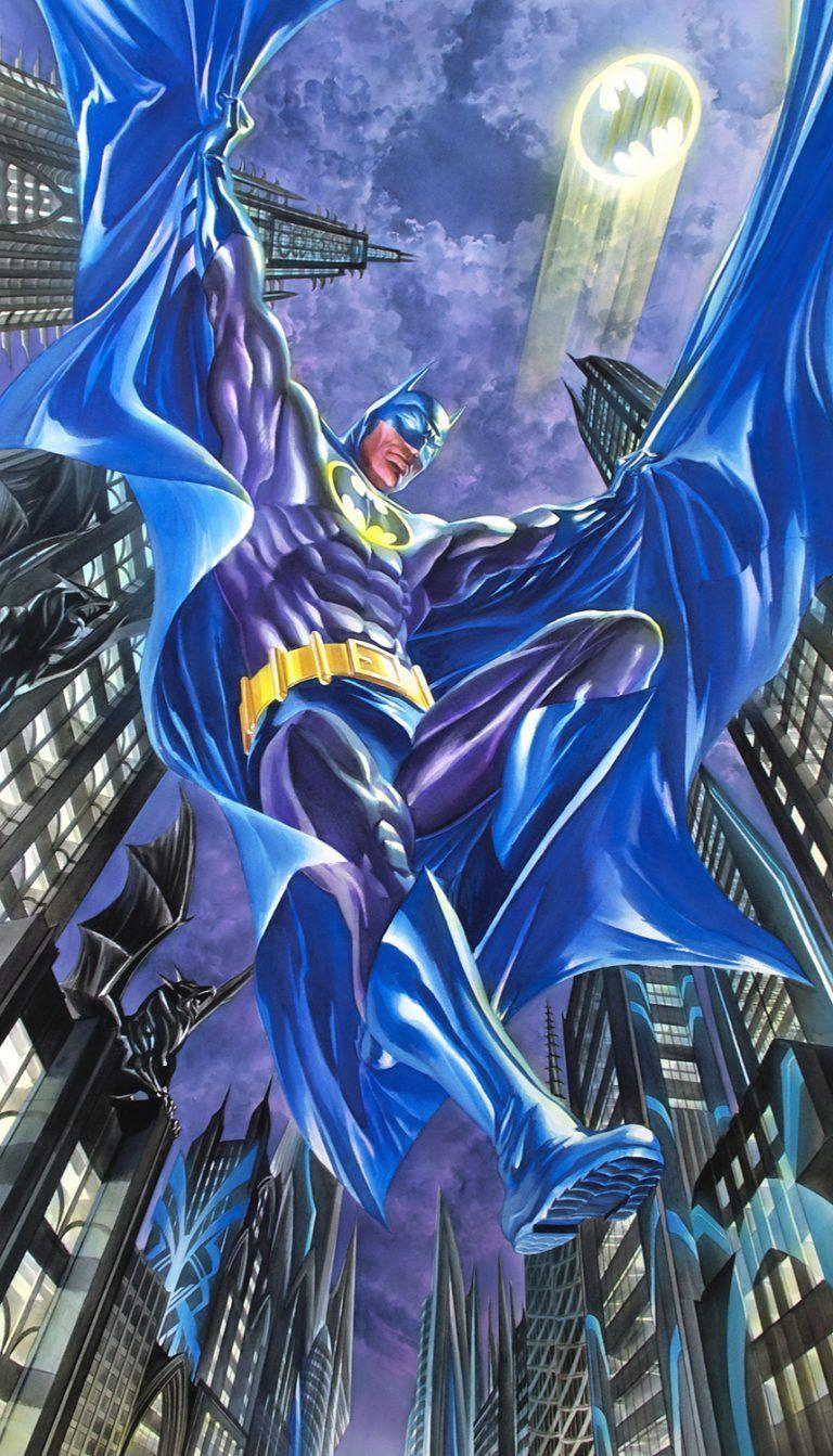 DARK KNIGHT DETECTIVE Giclee On Canvas DC COMICS FINE ART