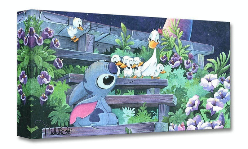 DISNEY TREASURES: FAMILY BLOSSOMS Disney Treasure DISNEY FINE ART