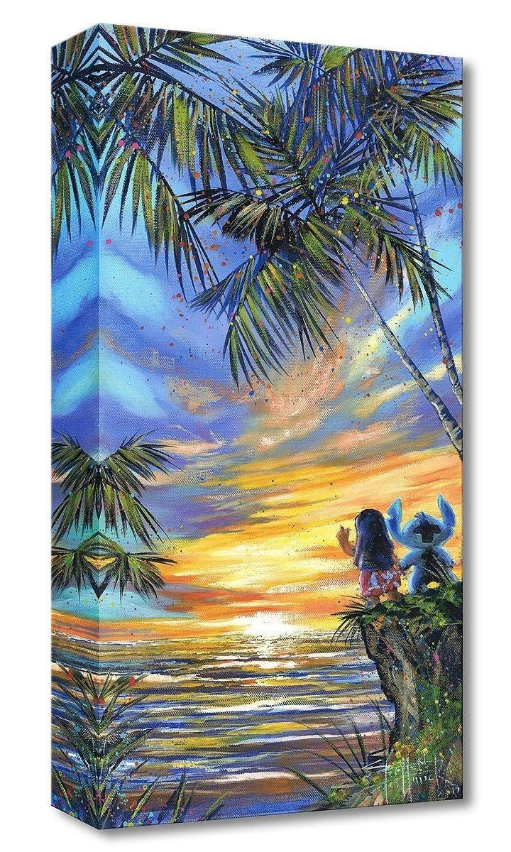 DISNEY TREASURES: GOODBYE TO THE SUN Disney Treasure DISNEY FINE ART