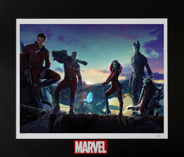 GUARDIANS: DEFEND - LITHOGRAPH