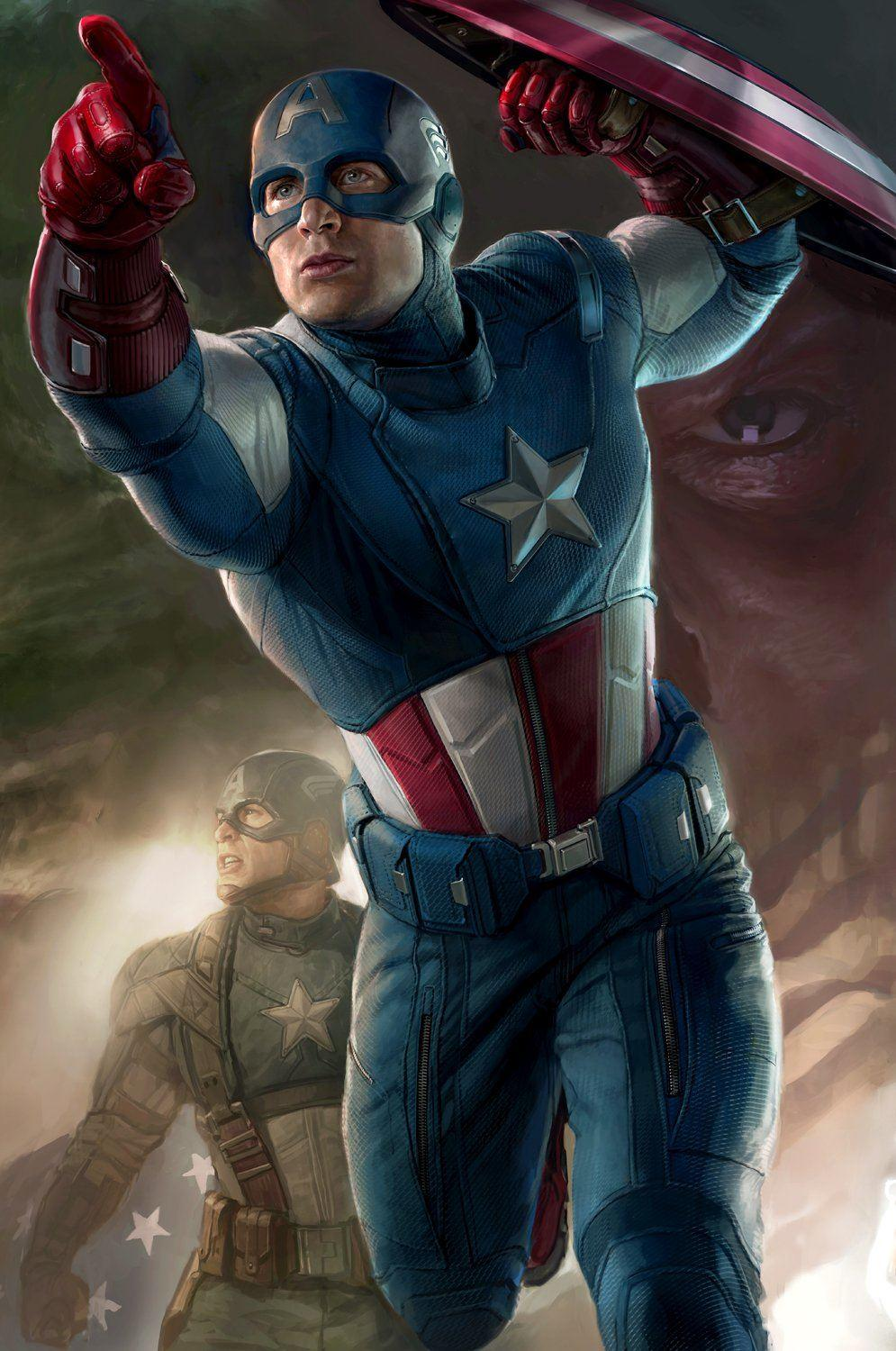 LEGENDS: CAPTAIN AMERICA Giclée On Canvas MARVEL FINE ART