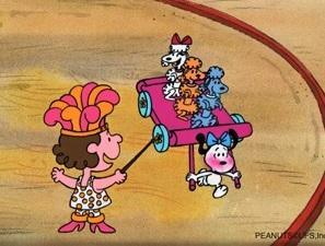 PEANUTS PRODUCTION ART: SNOOPY, POLLY AND FIFI