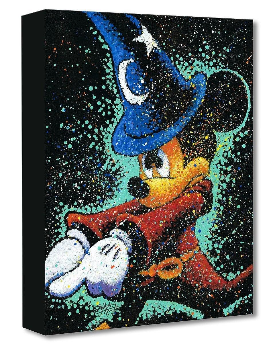 DISNEY TREASURES: MICKEY CASTS A SPELL Disney Treasure DISNEY FINE ART