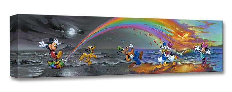 DISNEY TREASURES: MICKEY MAKES OUR DAY Disney Treasure DISNEY FINE ART