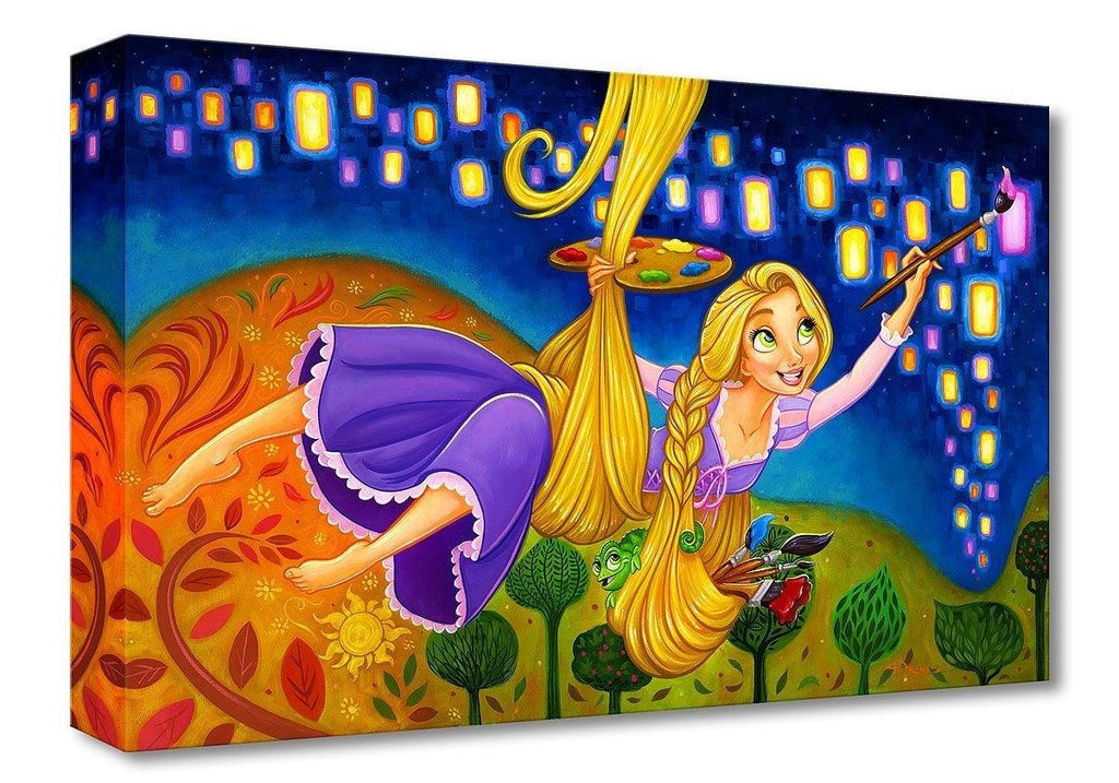 DISNEY TREASURES: PAINTING LIGHTS Disney Treasure DISNEY FINE ART
