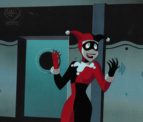 NEW ADVENTURES OF BATMAN PRODUCTION CEL: HARLEY QUINN
