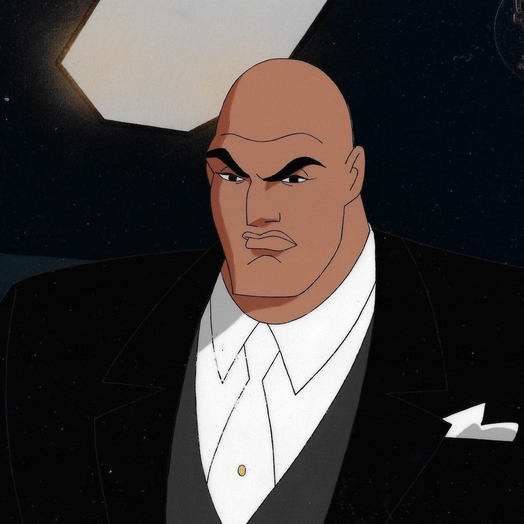SUPERMAN: THE ANIMATED SERIES PRODUCTION CEL: LEX LUTHOR Original Production Cel DC COMICS FINE ART